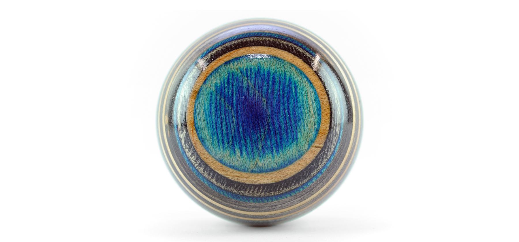 blue top planet shift knob