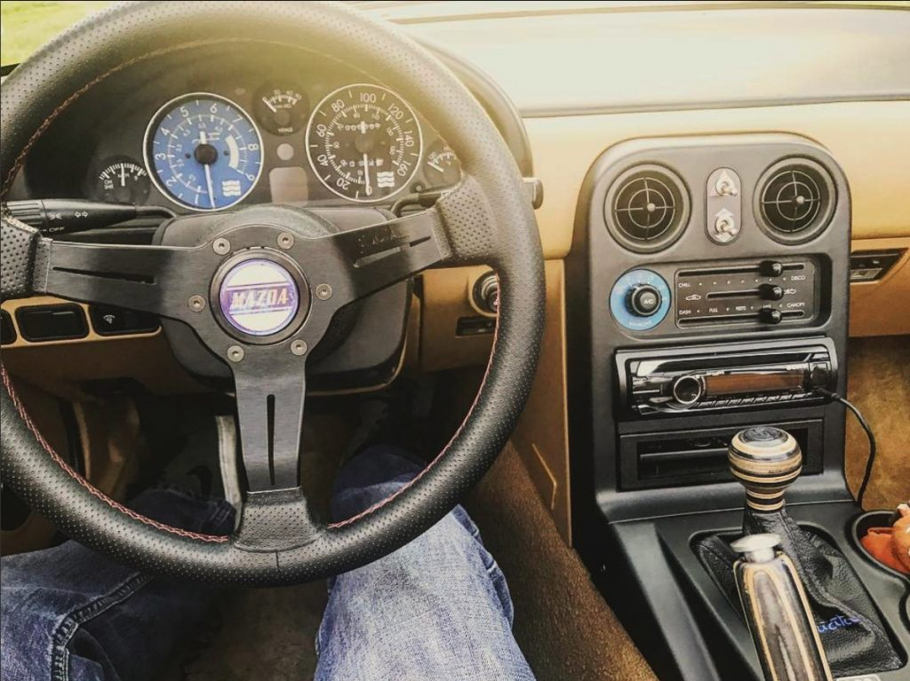 MX5 shift knob and handbrake