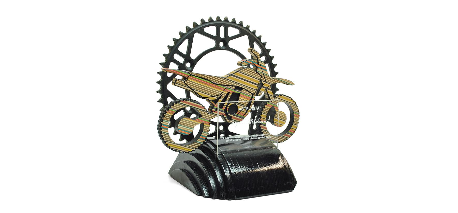 motocross trophy