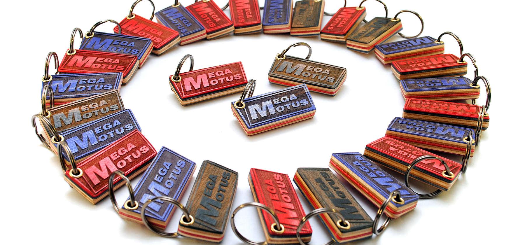 Megamotus keychains