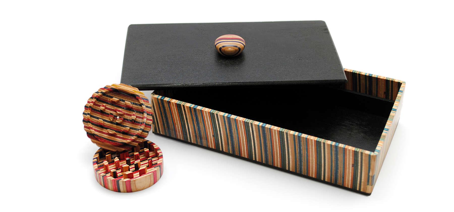 grinder & box set