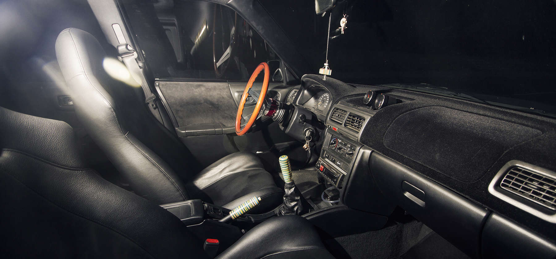Subaru shift knob & handbrake