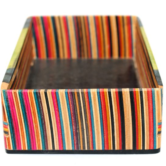 recycled skateboards box