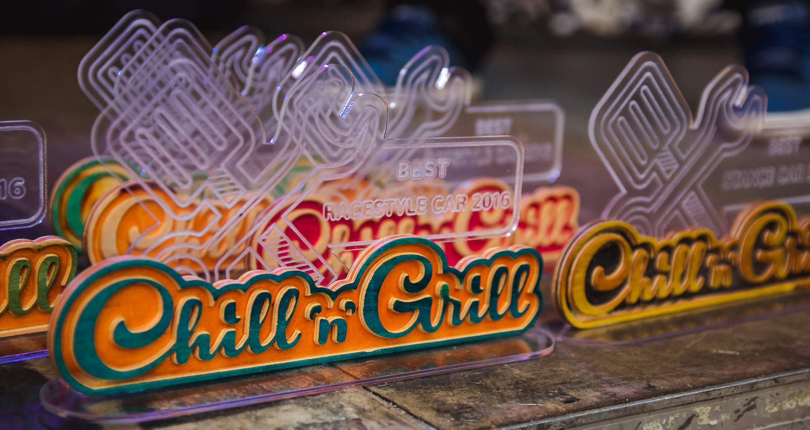 Chill'n'grill Trophies