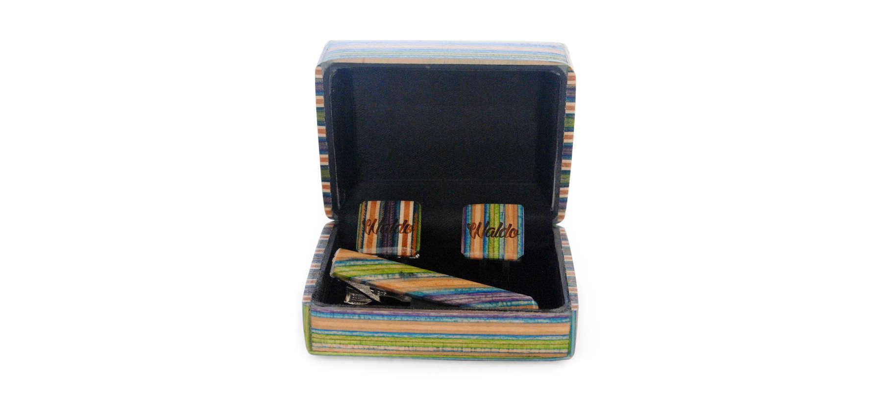 Waldo Cufflink gift box