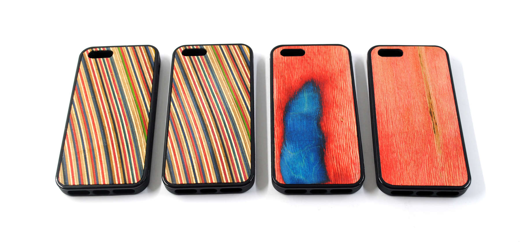 recycled skateboards phone cases