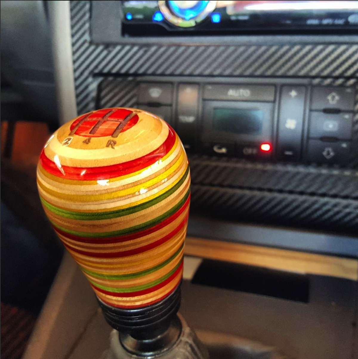 99 A4 Audi shift knob - Commune DIY | Recycled Skateboards