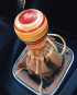 VW rasta shift knob
