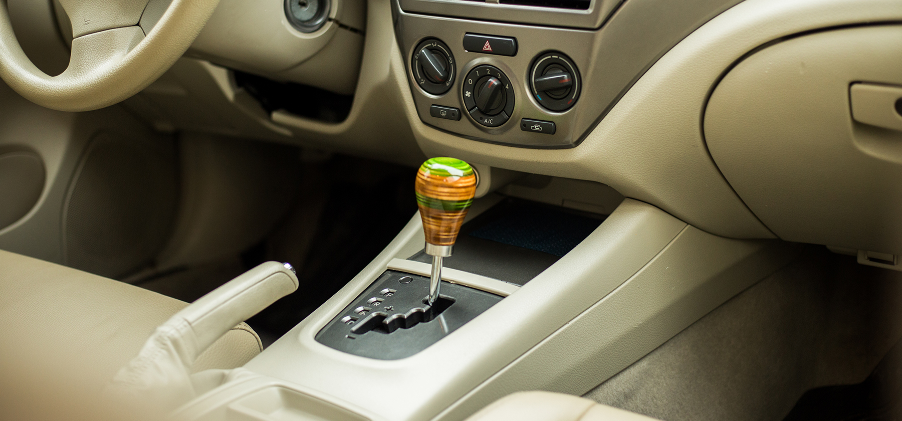 weighted shift knob