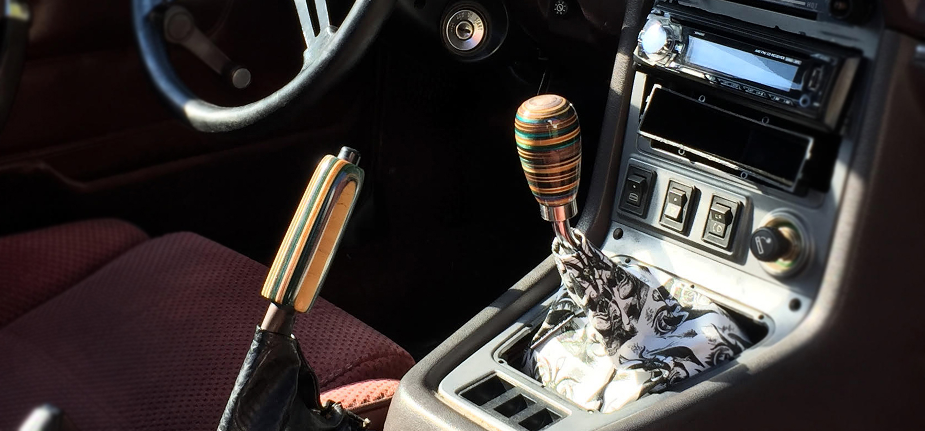 mazda rx7 shift knob handbrake