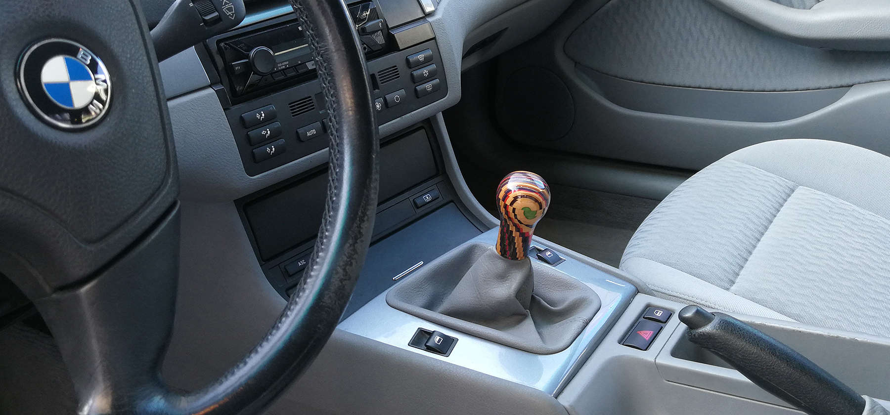 bmw e46 shift knob
