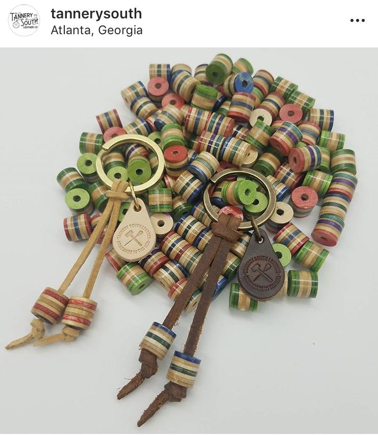cylinder skate beads