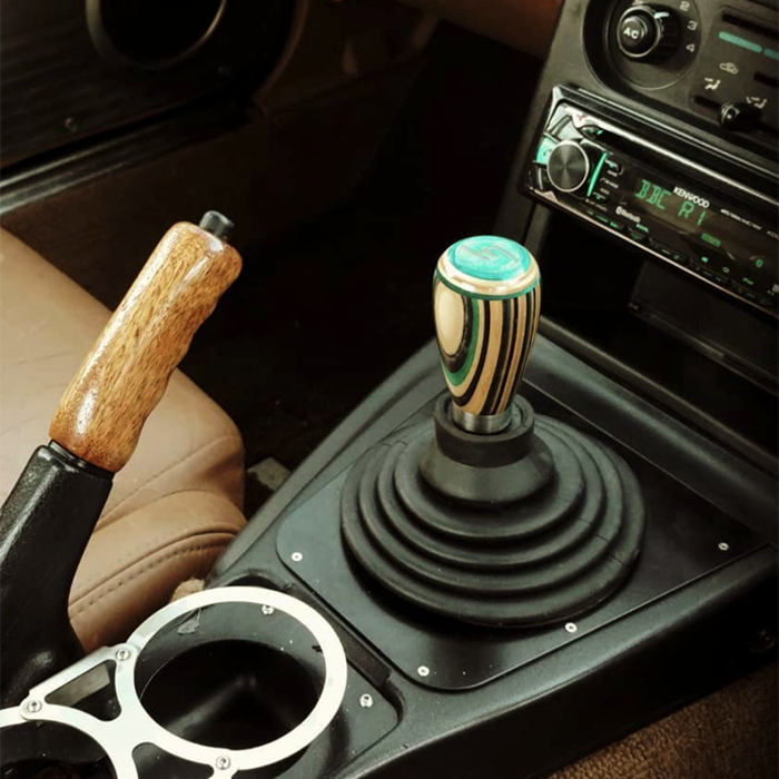 custom teardrop shift knob