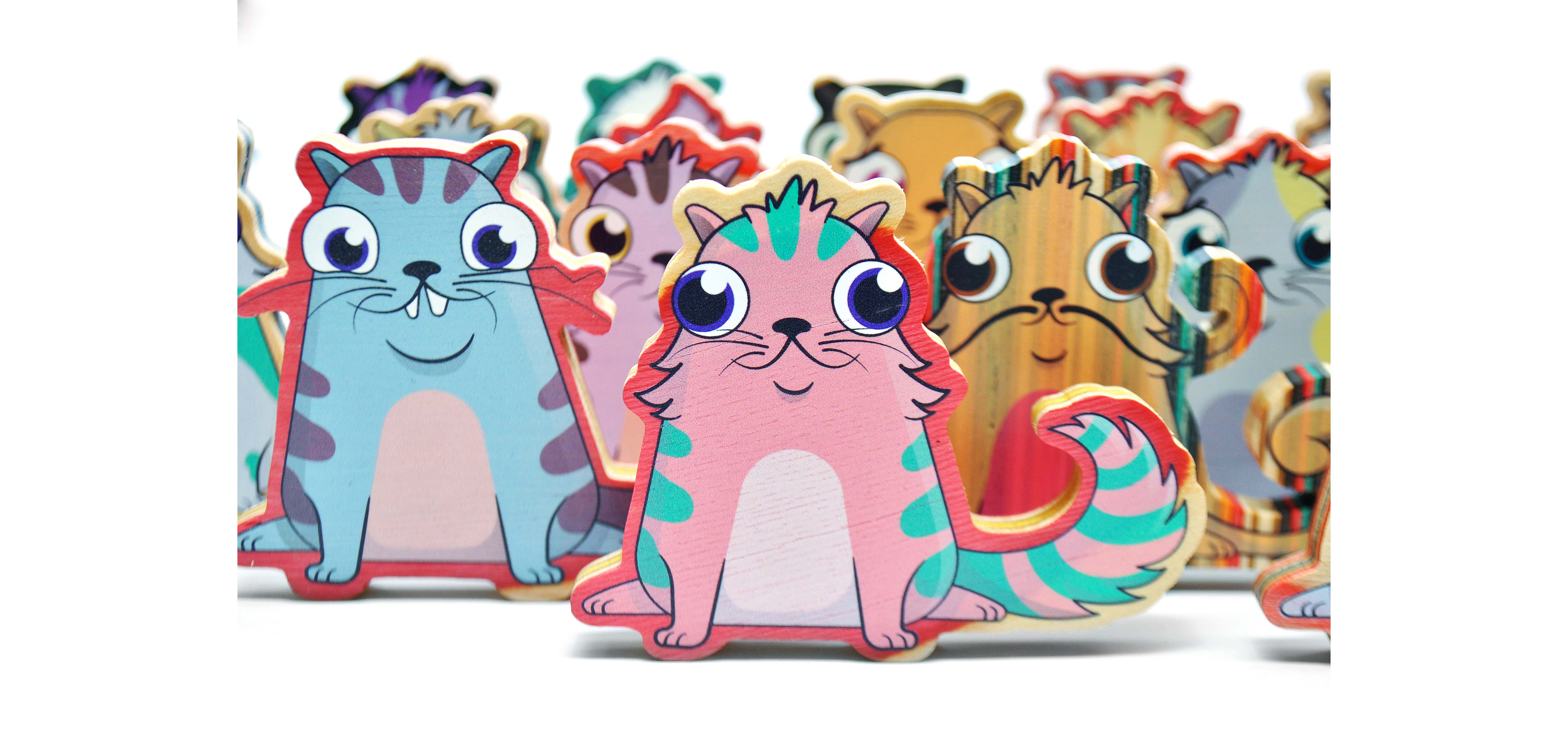 cryptokitties figurines