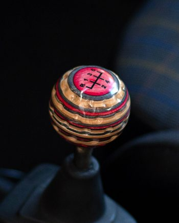 golf ball shift knob pink