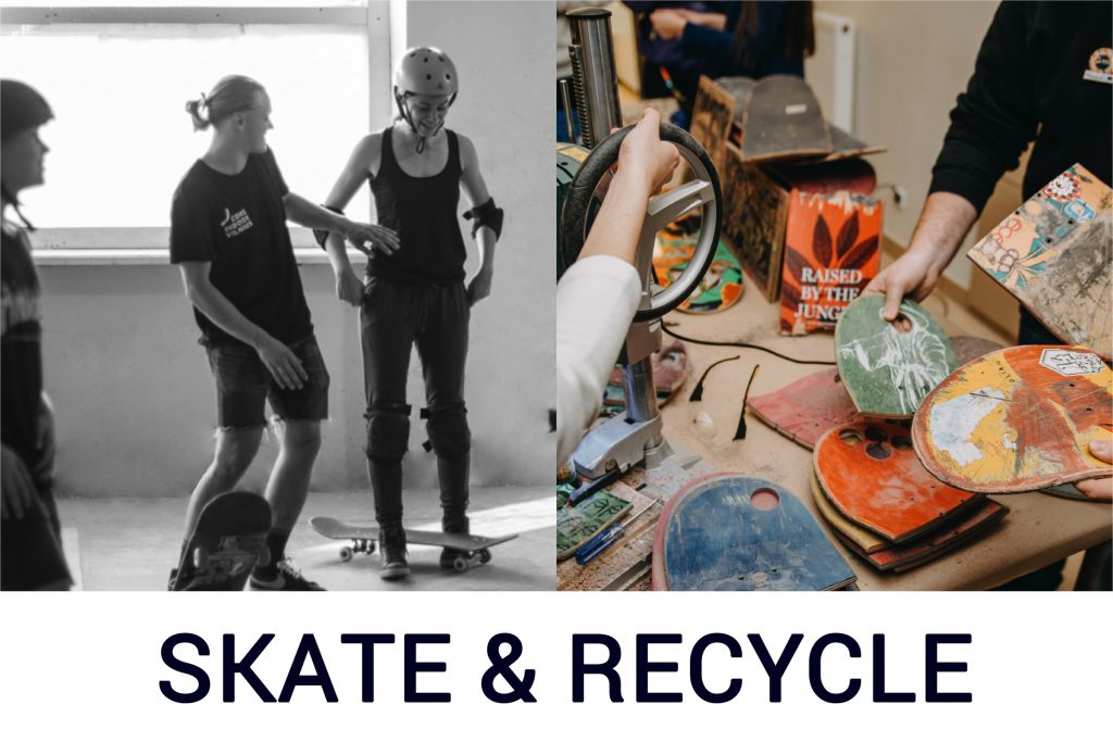 skate and recycle programa